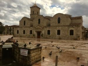 old church Larnica Cyprus