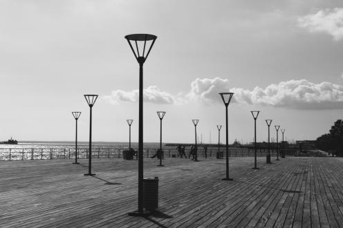 Limassol Cyprus boardwalk