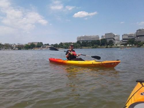kayak potomac river Washington DC