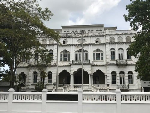 GPS my City Ambard House Magnificent seven port of spain trinidad