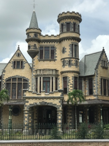 GPS My City Stollmeyers castle port of spain trinidad magnificent seven