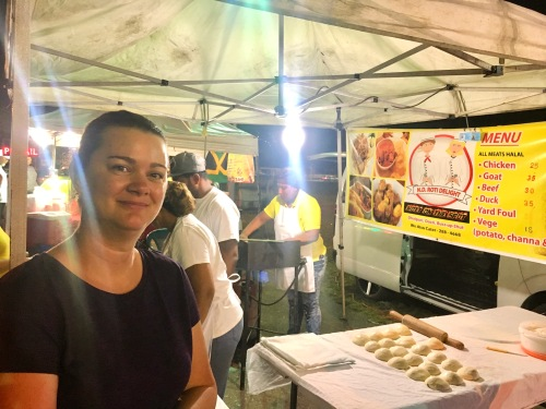 street food menu port of spain trinidad