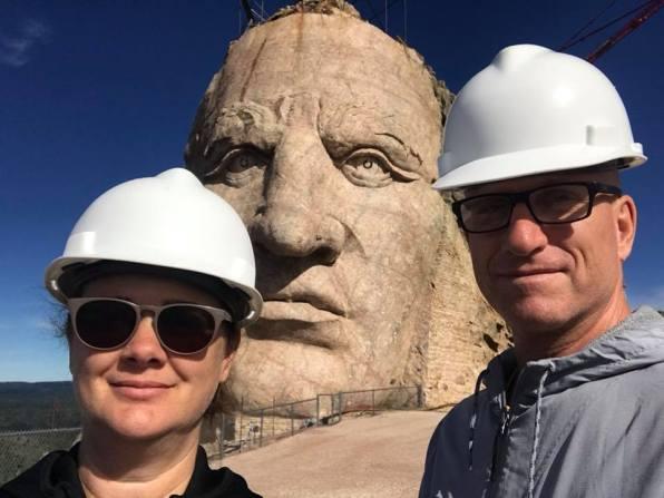 At Crazy Horse Memorial