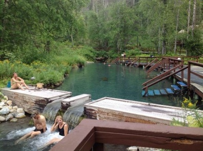Liard River Hot Springs