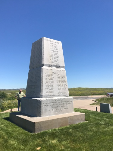 Custer's Last Stand monument Montana