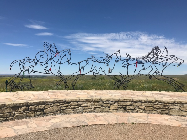memorial at Little Bighorn National Monument