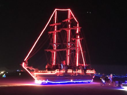 Just a giant sailing ship