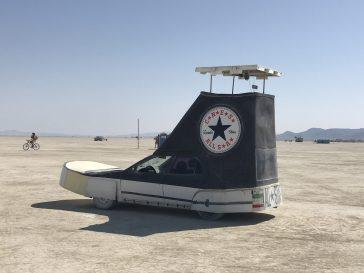 Converse Art Car