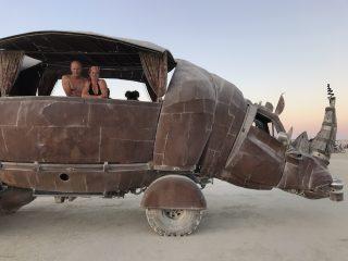 Rhino Art car