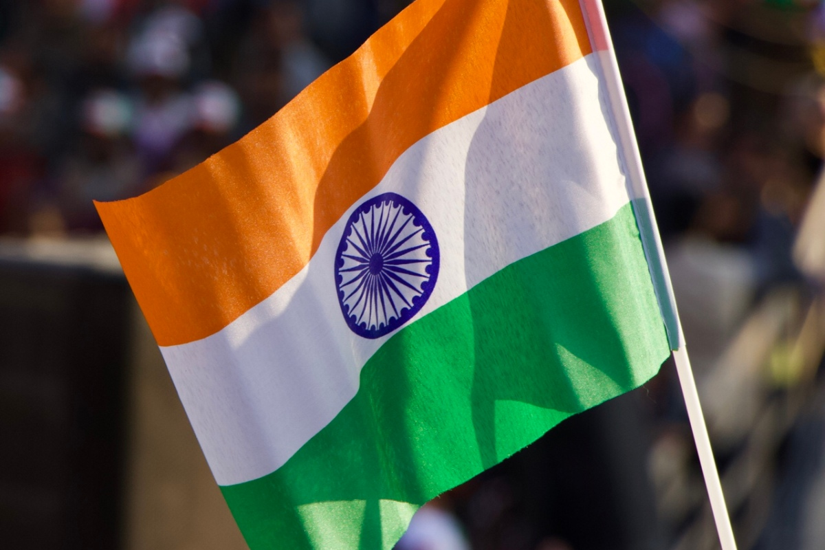 orange white green india flag