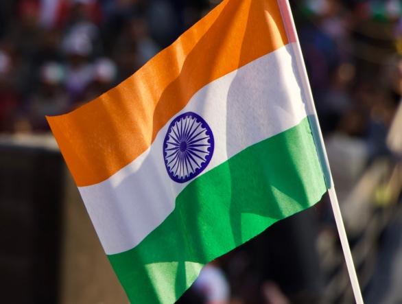 orange white green india flag