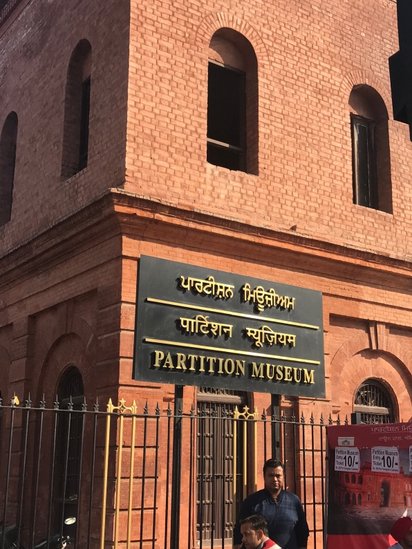 Red brick Partition Museum Amritsar India