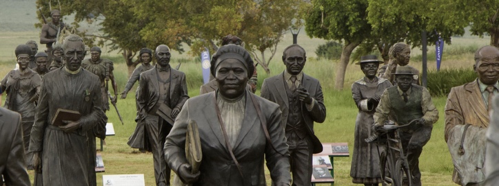 Long March to Freedom Bronze Statues South Africa