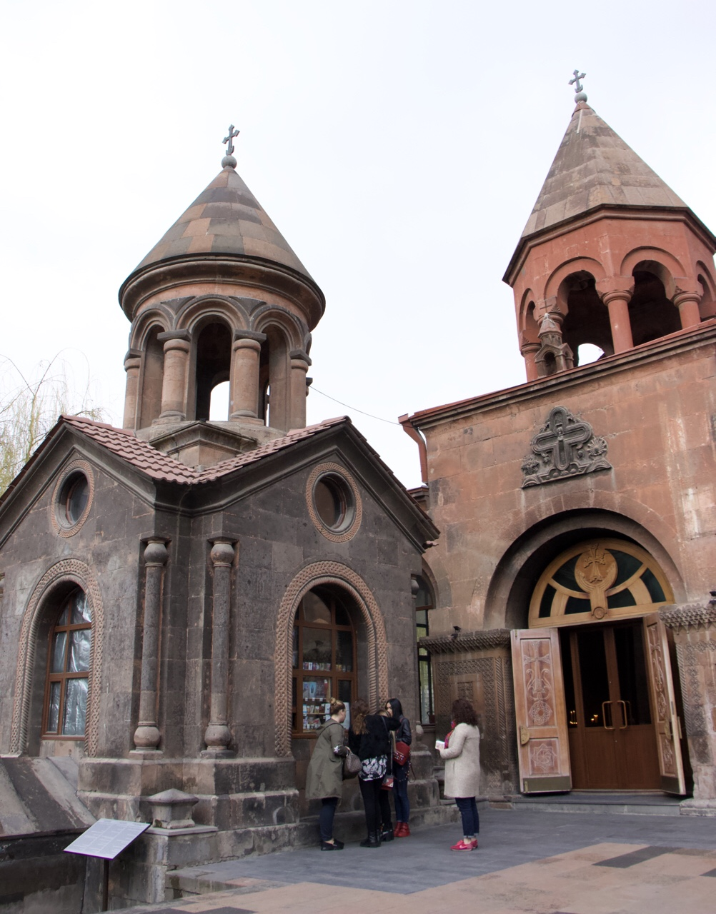 Armenia Zoravor Church Yerevan