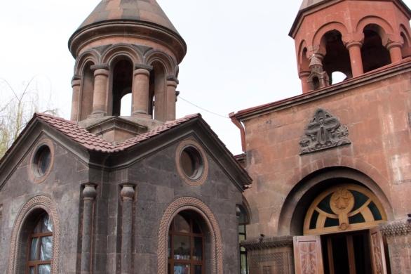 Armenia Zoravor Church Yerevan
