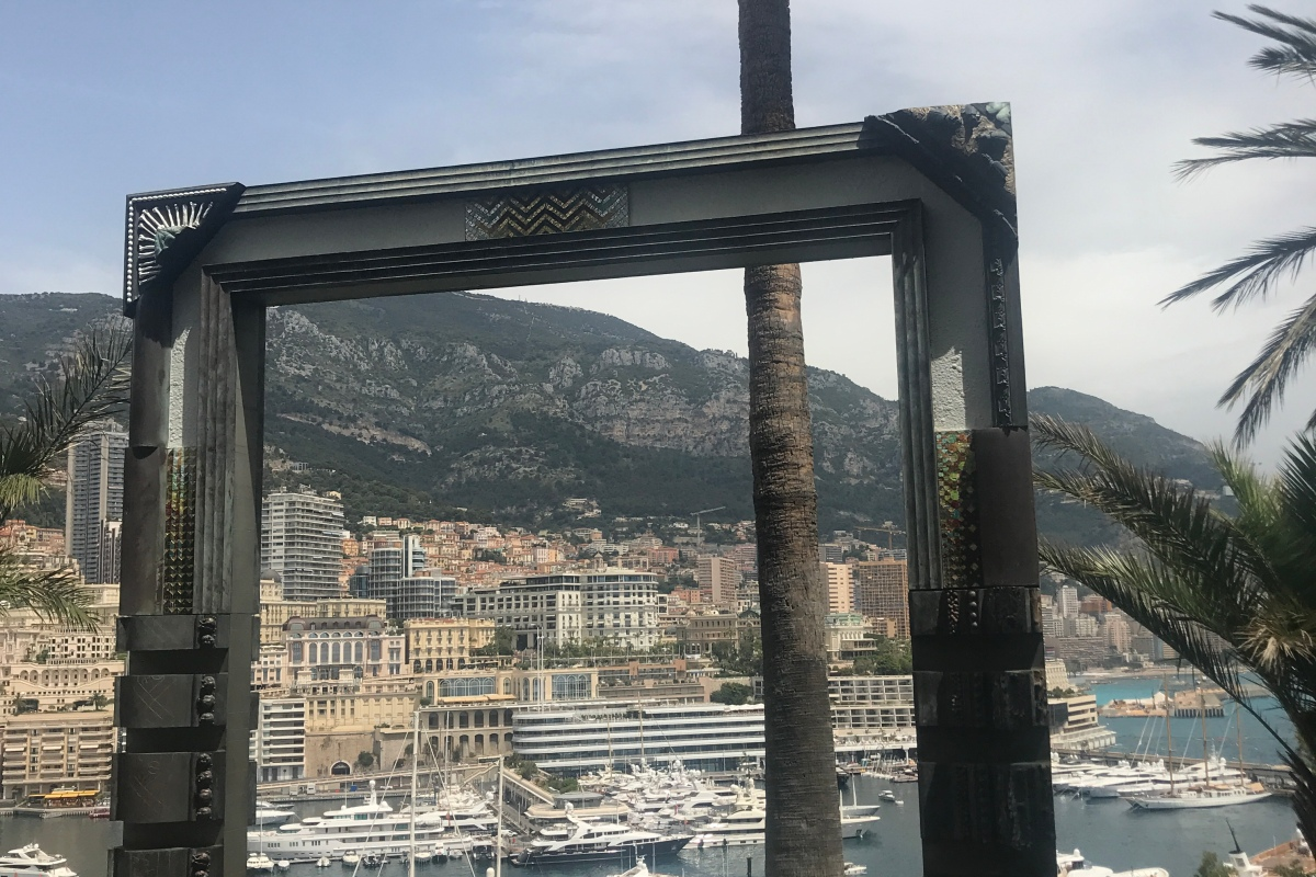 picture frame monaco yachts harbor