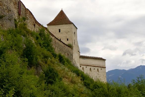 castle fortress Brasov Romania