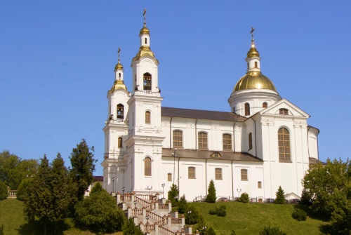 Cathedral of Holy Assumption Belarus Vitebsk