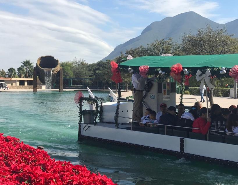 Parque Fundidora Paseo Santa Lucia Monterrey Mexico